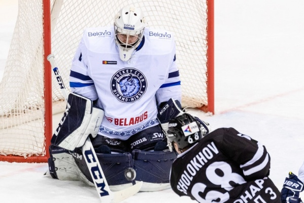 Челябинским хоккеистам, видимо, в сегодняшней игре помогло «поддерживающее» послание болельщиков