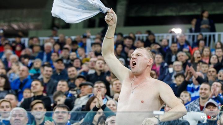 На матч «Ротора» и «Мордовии» пришли 22 784 зрителя