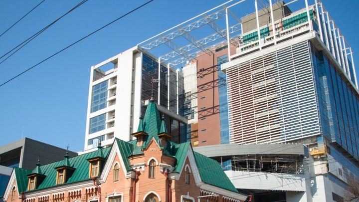 В Ростове снова перенесли сроки сдачи отеля Hyatt на Большой Садовой