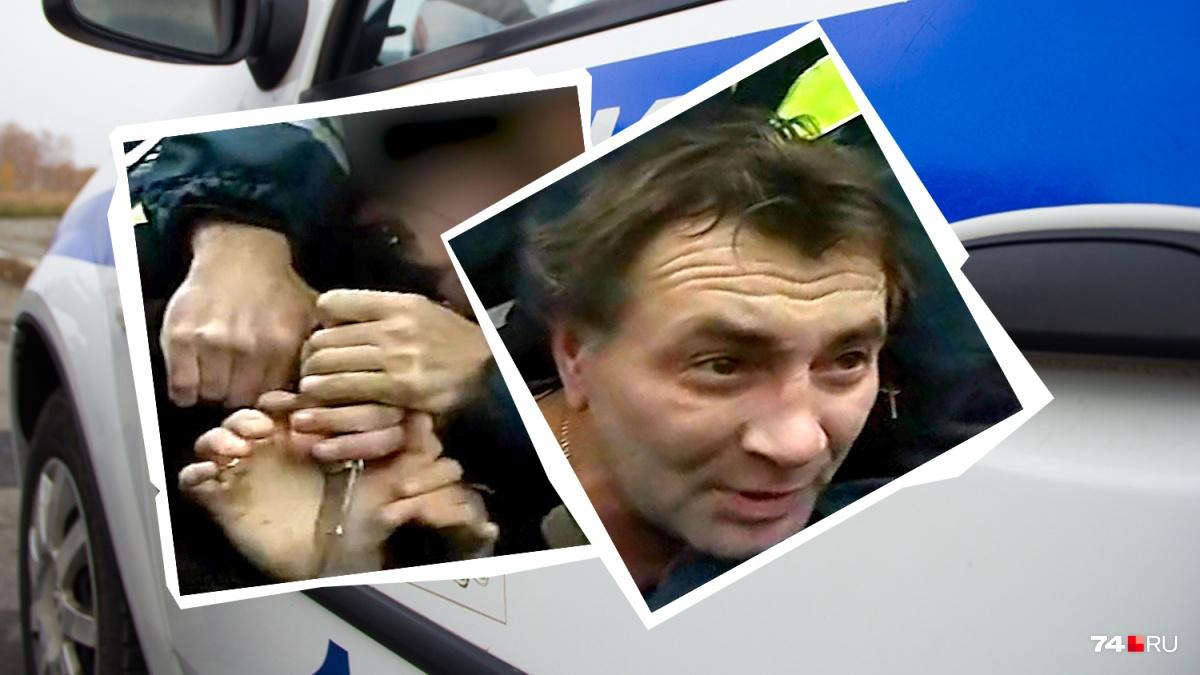 Мужчина достал нож и бросился на полицейского из-за высокого давления, усталости и смеси алкоголя с энергетиком в крови
