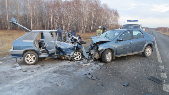 Пятеро человек с травмами, один умер: на трассе Екатеринбург — Курган произошло смертельное ДТП