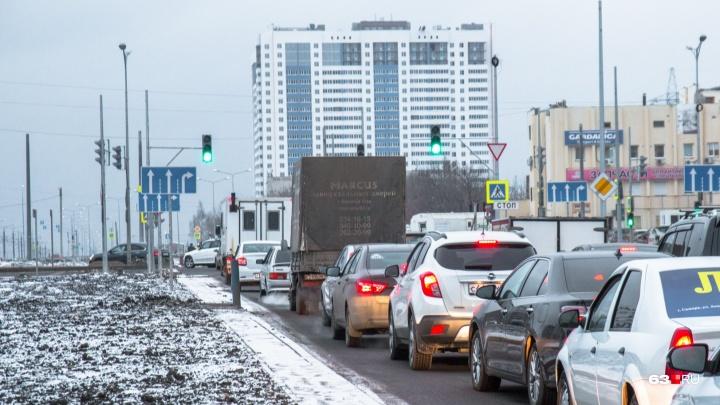 В ТТУ озвучили сроки открытия движения машин на пересечении Московского шоссе и Ташкентской