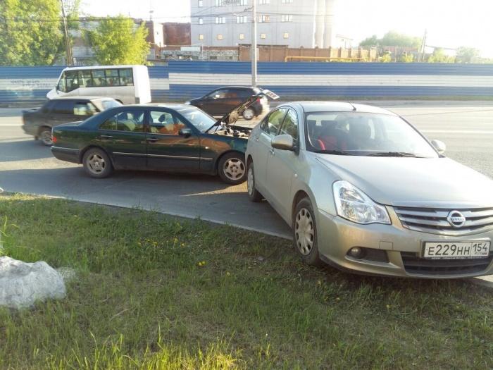 Авария произошла в вечером 31 мая на перекрёстке ул. Дуси Ковальчук и Владимировской