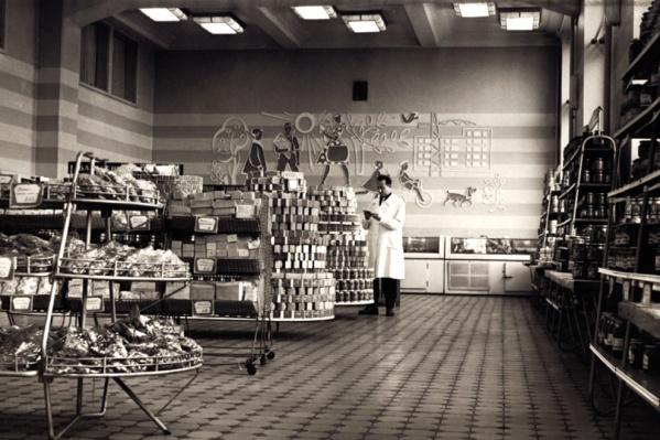 Интерьер «Сотого» в 1970-х годах