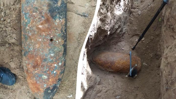 На полуострове Копылово взорвали артиллерийский снаряд