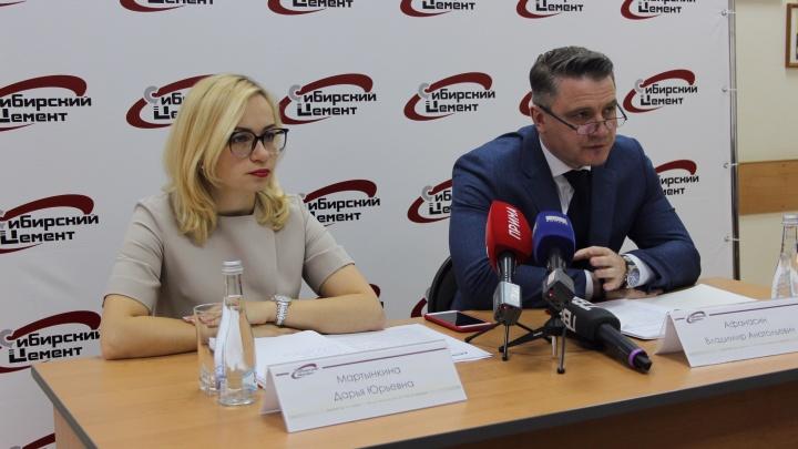 На Красноярском цементном заводе подвели итоги работы в «высоком» строительном сезоне – 2019