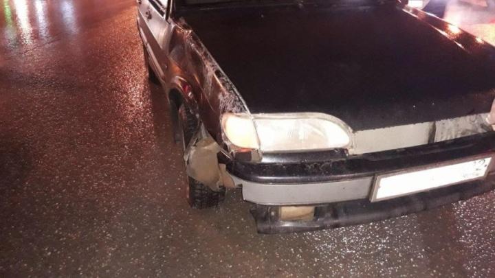 В Уфе на перекрёстке водитель ВАЗ-2114 сбил школьника