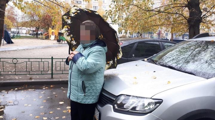 Пенсионерка, перегородившая дорогу машине на Червишевском тракте, может заплатить за ремонт бампера