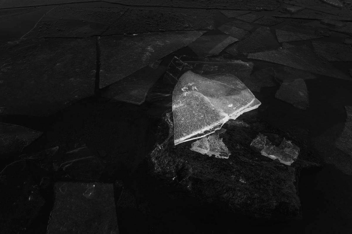 Верх-Исетский пруд, период ледостава