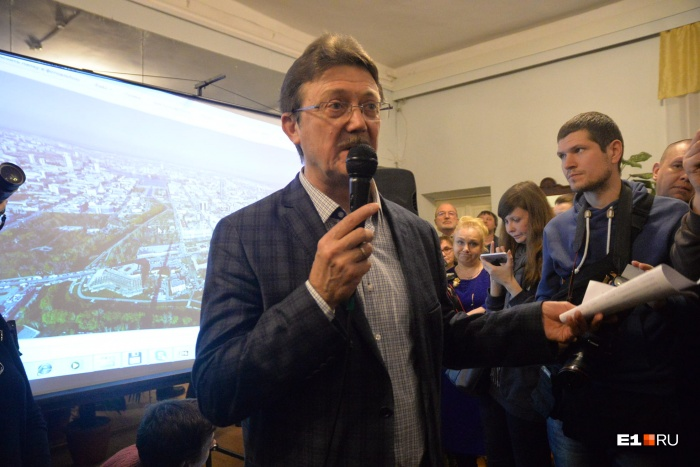 Архитектор Михаил Голобородский занимался проектом «храма на воде»