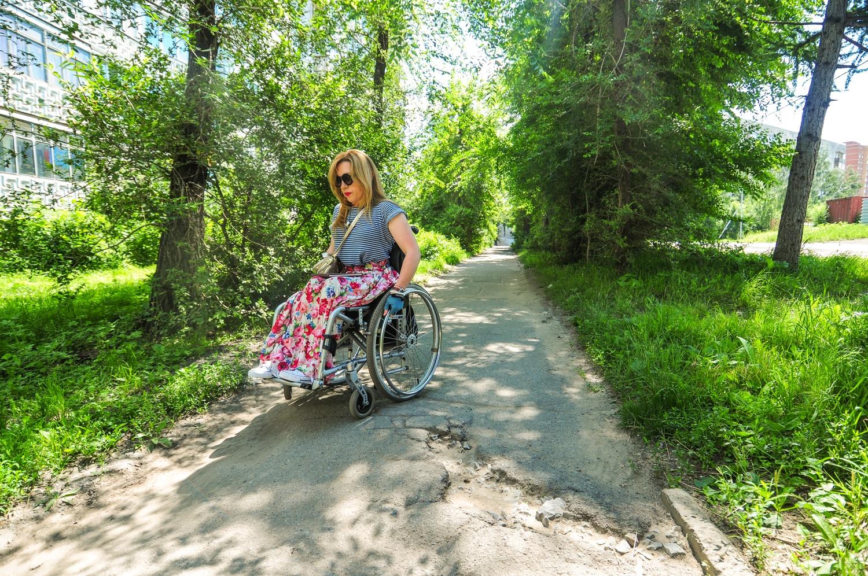 Ольга признаётся, что гулять без помощи родных или друзей невозможно