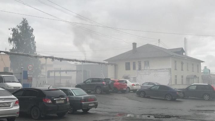 «Густой дым, запах серы»: челябинские общественники нашли новый источник выбросов на северо-западе