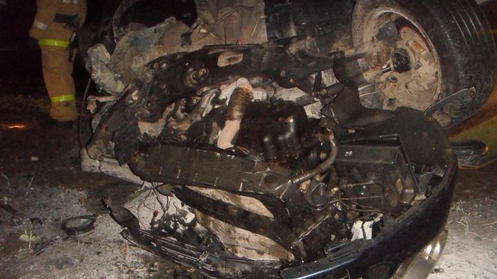 В Юргамышском районе в аварии погиб житель Челябинска
