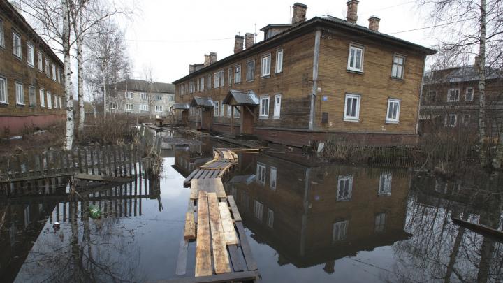 Запасаются лекарствами и топливом: в Архангельске началась подготовка к встрече с большой водой