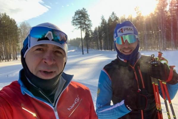 Евгений Куйвашев и Антон Шипулин дружат