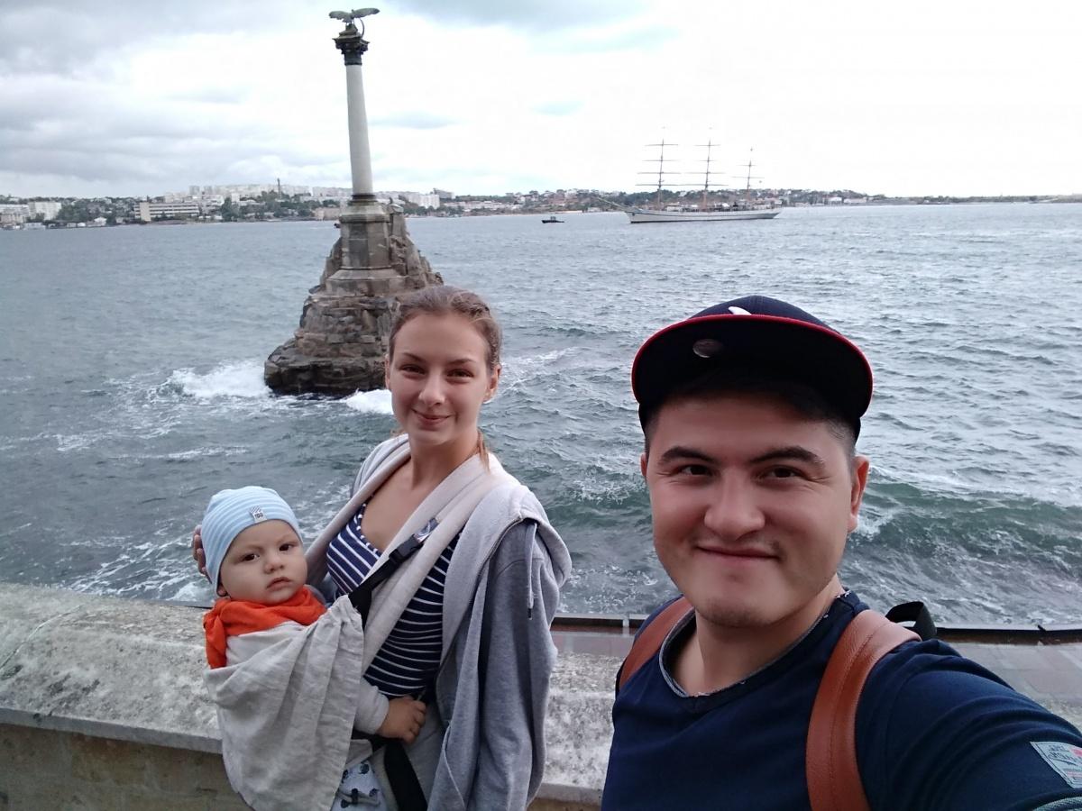 За два года супруги влюбились в Севастополь