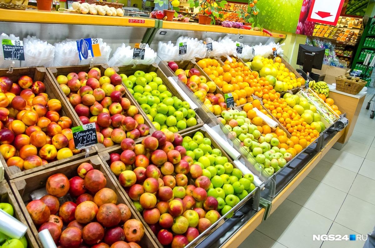 До санкций килограмм яблок в том же «Красном Яре» стоил от 79 до 109 рублей за кг