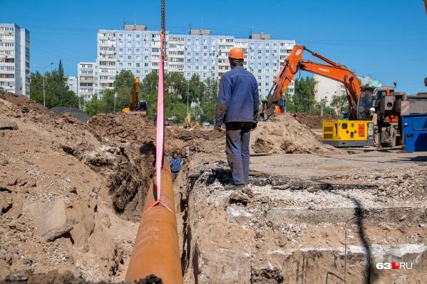 На Ташкентской работы закончат позднее — к середине осени