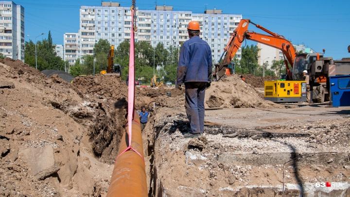 Откроют дороги: в Самаре к середине сентября теплотрассы обновят на шести участках