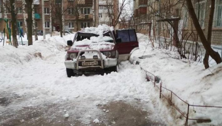 В Ярославле силовики встали на защиту людей, пострадавших от снега и льда