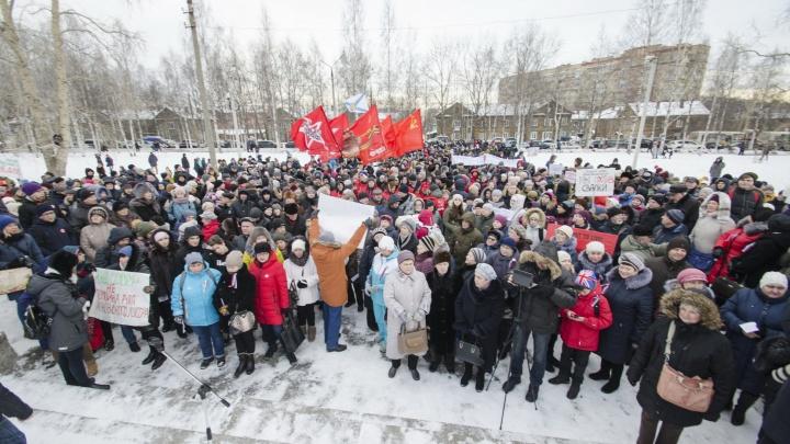 О протестах против ввоза мусора в Поморье доложат Путину