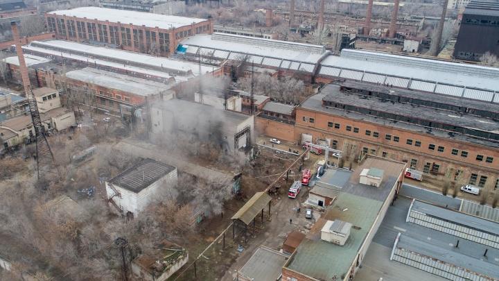 «Россети» назвали причину пожара на заводе «Баррикады»