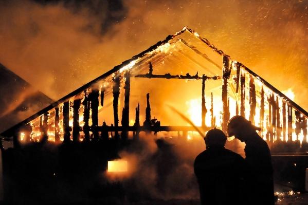 Возгорания в загородных домах способны превратиться в настоящую трагедию