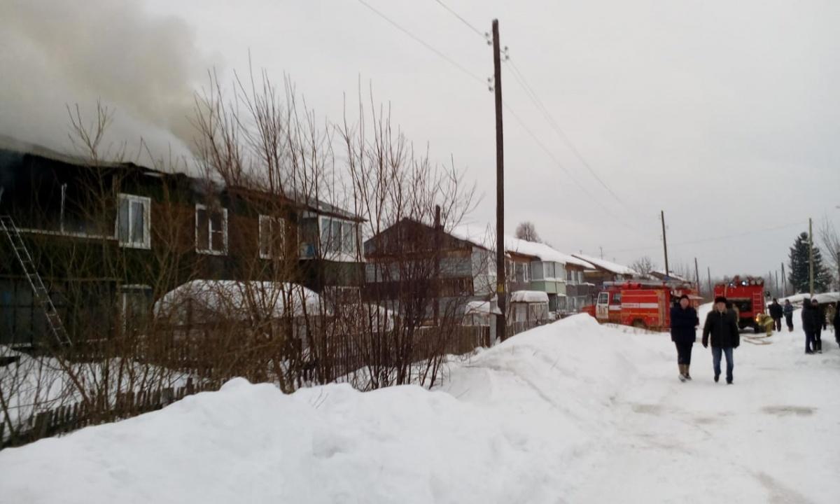 Из дома эвакуировали жильцов