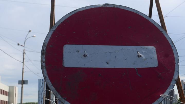 В Екатеринбурге на 3 недели перекроют движение по улице из-за строительства трамвайной ветки в Пышму
