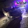 Пьяный водитель устроил массовое ДТП с переворотом на въезде в Челябинск