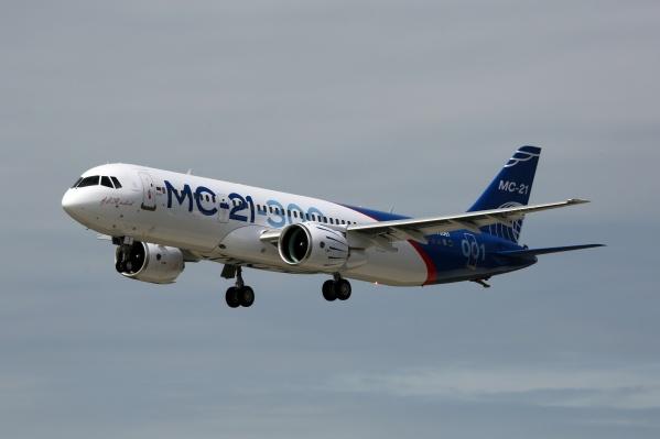 Самолёт МС-21 совершил первый дальний перелёт из Иркутска в подмосковный Жуковский 17 октября