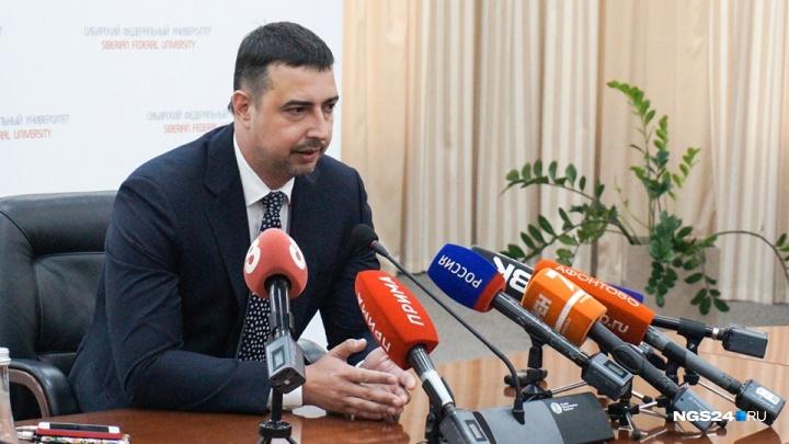 Первое интервью нового ректора СФУ: о задачах от президента, массовых увольнениях и заборах