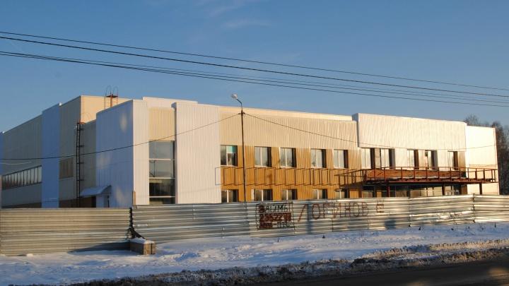 Областные власти потратят больше100 миллионов на ледовый дворец-долгострой под Новосибирском