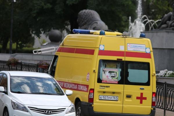 Пострадавших увезли в больницу