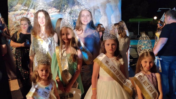 Юные модели из Новосибирска выиграли два международных конкурса красоты