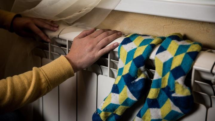 Пятнадцать домов в Октябрьском районе остались без тепла