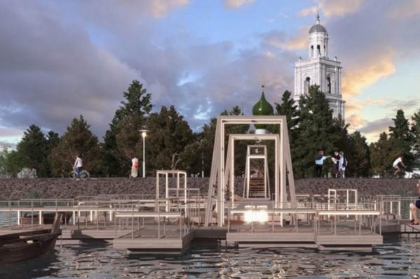 В Пошехонье решили благоустроить стрелку рек Согожи и Пертомки