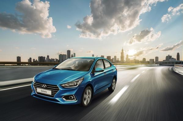 Hyundai Solaris с мотором 1,6 литра и автоматической КПП высоко ценится на вторичном рынке