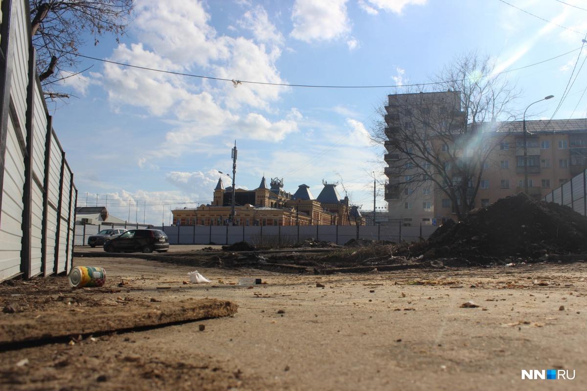 Гостиницу собираются строить рядом с Ярмаркой