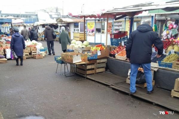 Предпринимателям предложили места на других городских рынках