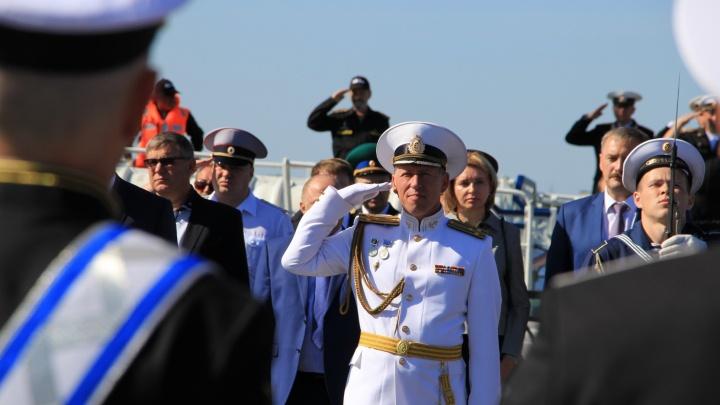 Фоторепортаж: северяне отпраздновали День военно-морского флота