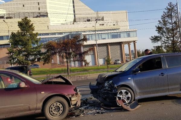 Вероятнее всего, в аварии обошлось без пострадавших