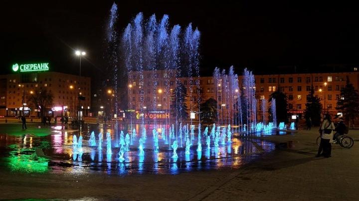 В Перми 1 мая запустят Театральный фонтан. Публикуем график светомузыкальных представлений