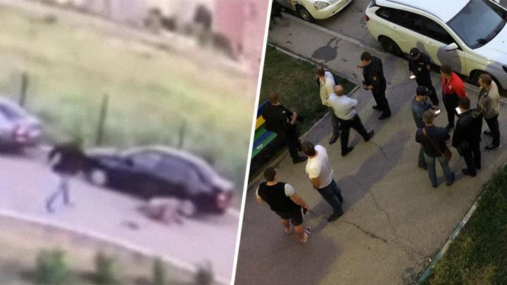 Появилось видео момента убийства спортсмена Ильи Тягуна