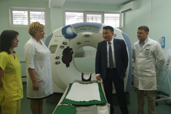 В тольяттинской больнице также восстановили поломанный компьютерный томограф