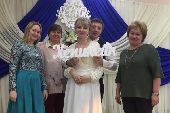 Свадьбу отпраздновали в минувшую пятницу