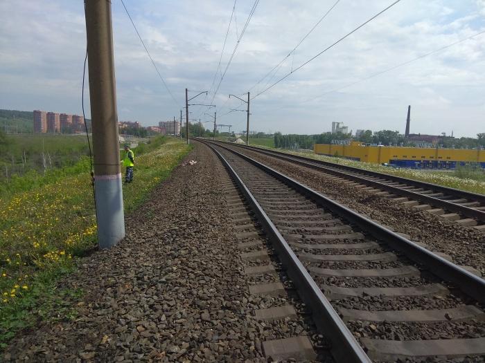 Инцидент произошёл на 22-м километре станции Инская