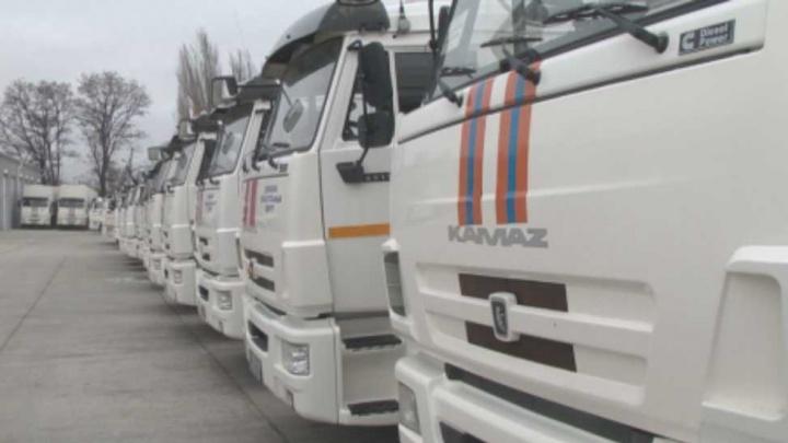 Везут подарки и лекарства: из Ростова в Донбасс отправили гуманитарную помощь