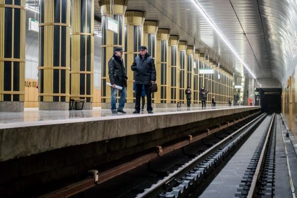 Последнюю станцию новосибирского метро открыли в 2011 году