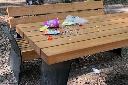 Беседка в парке «Гремячая грива»